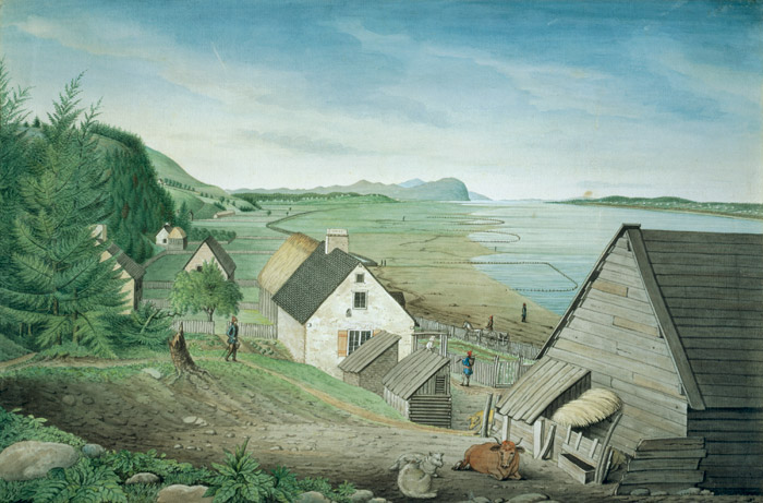 Vernacular Architecture In New France Virtual Museum Of