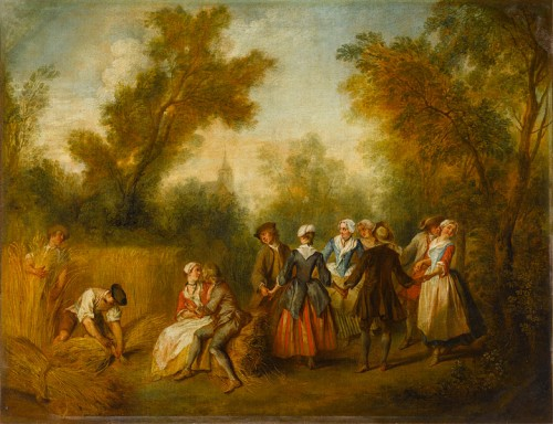 Summer, by Nicolas Lancret (1690-1743)