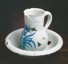 Basin and water jug