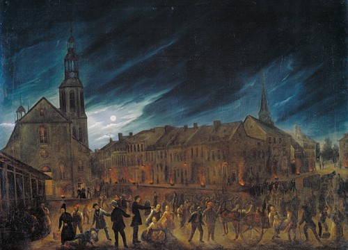 Cholera Plague, Quebec