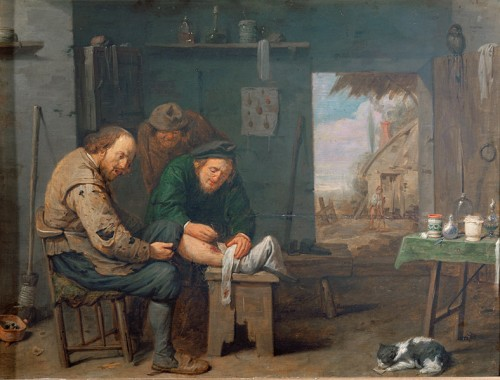 The barber-surgeon, 1638, by David Ryckaert III