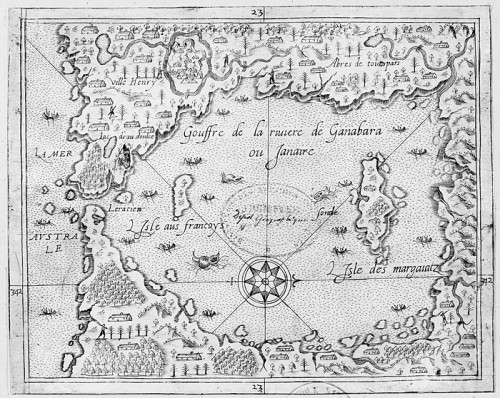 Abyss of the Ganabara or Janaire River, by André Thevet (1516-1590)