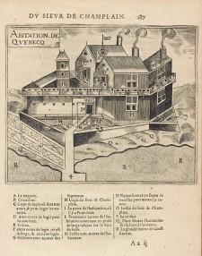 Quebec Habitation | Samuel de Champlain, 1613, Library and Archives Canada, e010774131