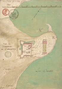 Fort Frontenac or Katarakouy in 1685