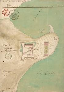Fort Frontenac or Katarakouy in 1685