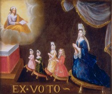 Ex-Voto of Madam Riverin and her Children