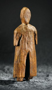 Inuit figurine of a Norseman