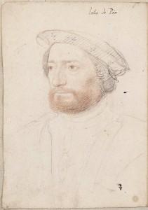 Jean François de La Roque, sieur de Roberval by François Clouet (ca. 1515-1572)