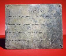 La Verendrye Plaque (front)