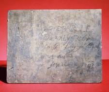 La Verendrye Plaque (reverse)