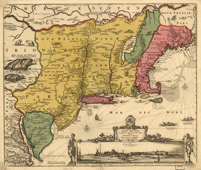 the societies of colonial new england and virginia in 17th century Society in the middle colonies was far by the late 17th century, virginia's and maryland's economic and social structure other new england colonies.