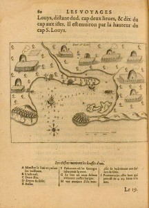 Port St. Louis, 1613, by Samuel de Champlain