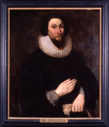 Portrait de John Winthrop, painted ca. 1630-1691, anonymous artist