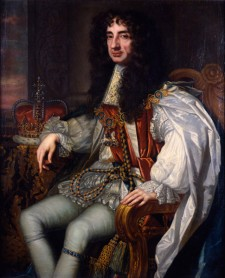 Portrait of King Charles II, n.d., by unidentified artist after Sir Peter Lely