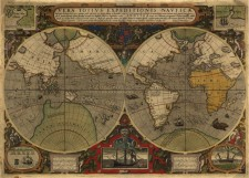 Vera totius expeditionis nauticae : descriptio D. Franc. Draci…, ca 1595, by Jodocus Hondius