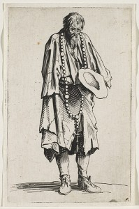 Beggar with a Rosary