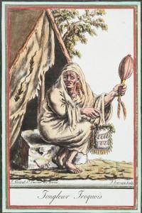 Iroquois Juggler, ca 1796-1804