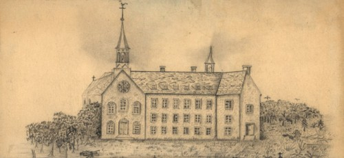 Drawing of the Charon Brothers General Hospital