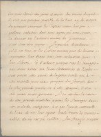 Letter of Mgr de Laval to Minister Colbert, September 30 1670