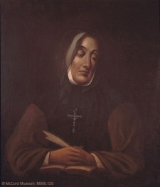 Portrait of Mère Marguerite d'Youville, 1825-1881, by James Duncan