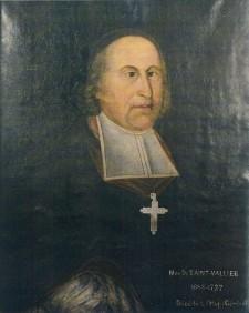 Portrait of Monseigneur de St. Vallier