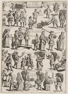 Les véritables cris de Paris, 1710-11