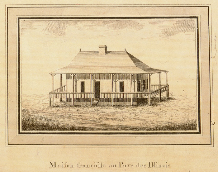Vernacular architecture in new france virtual museum of for House plans louisiana architects