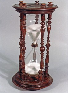 Hourglass, 2nd quarter of 18th century