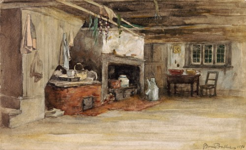 Interior of a Canadian house