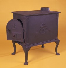Heating stove from the Forges du Saint-Maurice, c. 1820.