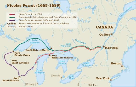 Perrot 1665-1689