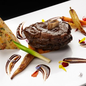 photo of food plating by Sodexo