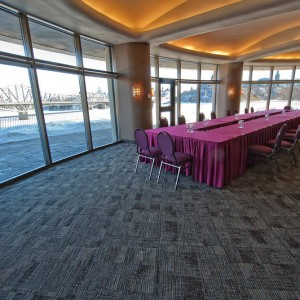 meeting table in Panorama Lounge