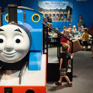A life-sized version of Thomas