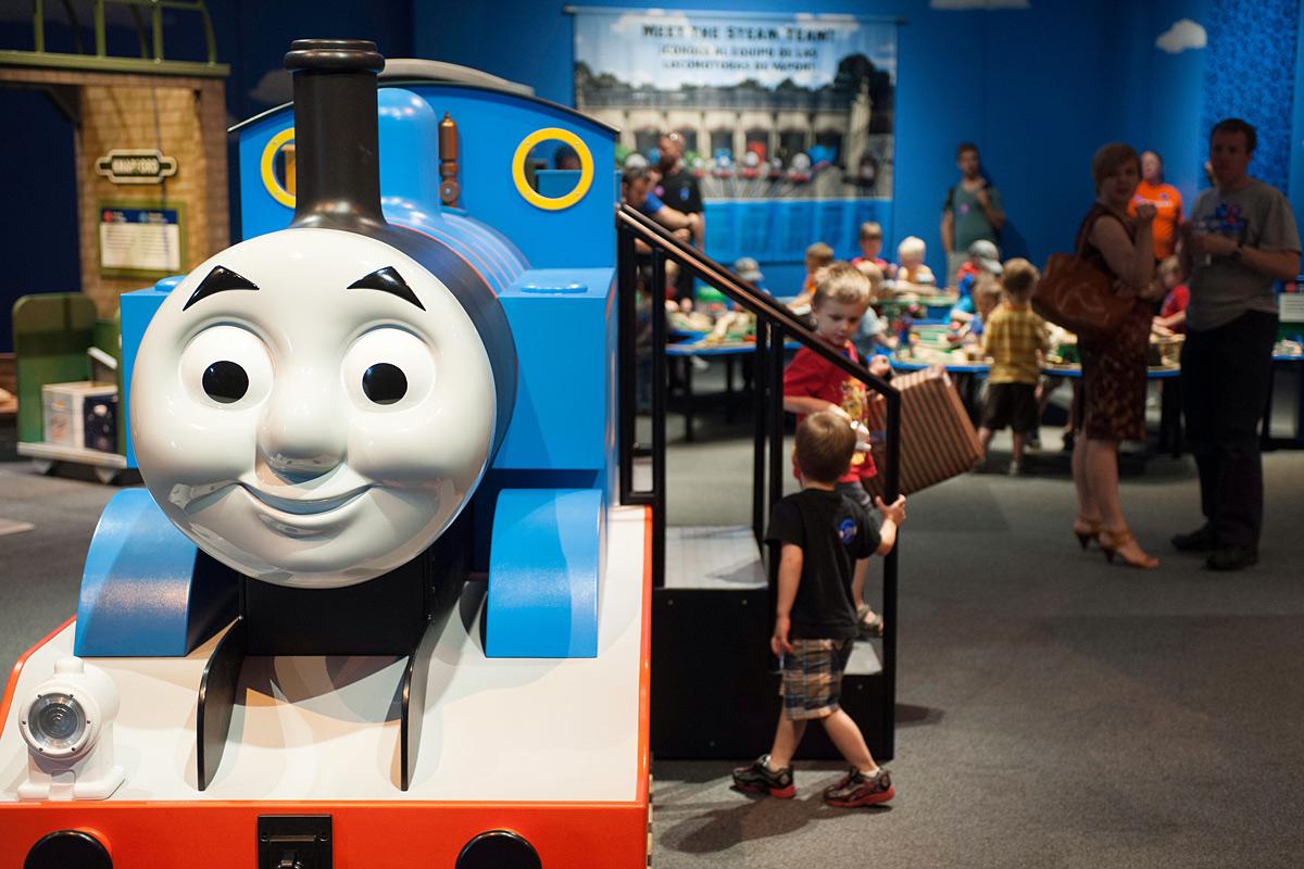 thomas friends explore  rails canadian museum  history