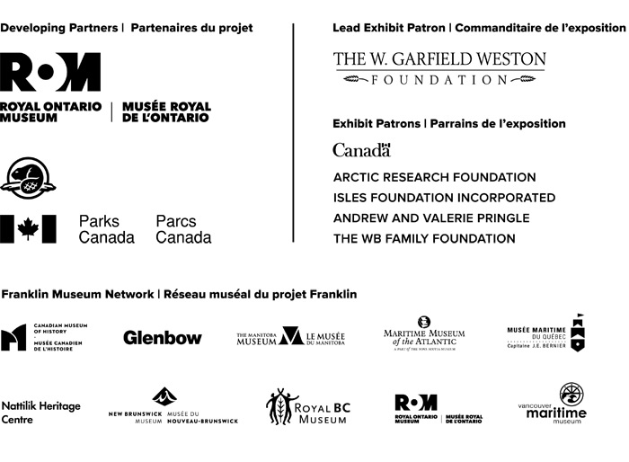The Franklin Exploration - Sponsors