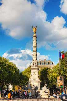 Place du Châtelet and its Fountain