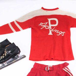 Hilda Ranscombe's hockey uniform
