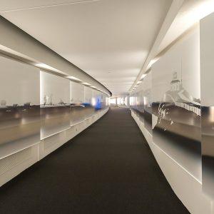 Canadian History Hall passageway