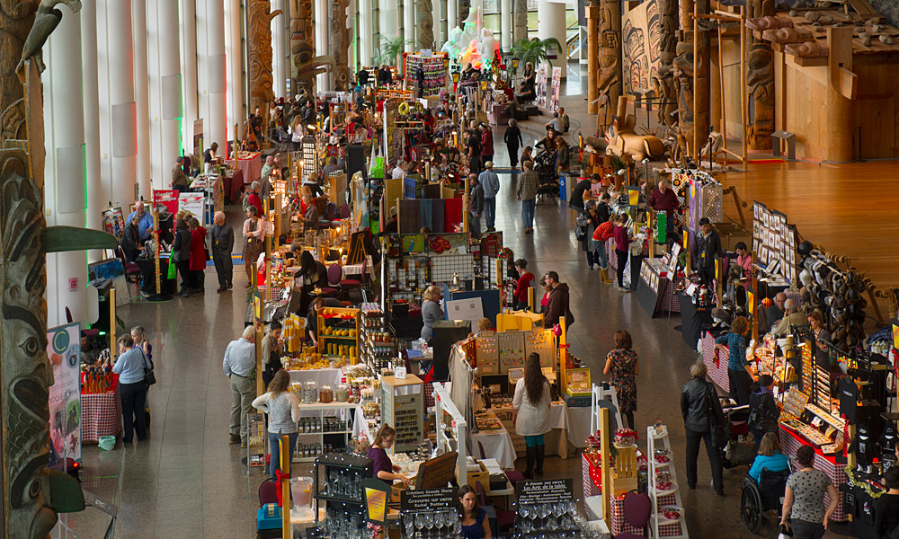 Exhibitors in the Grand Hall