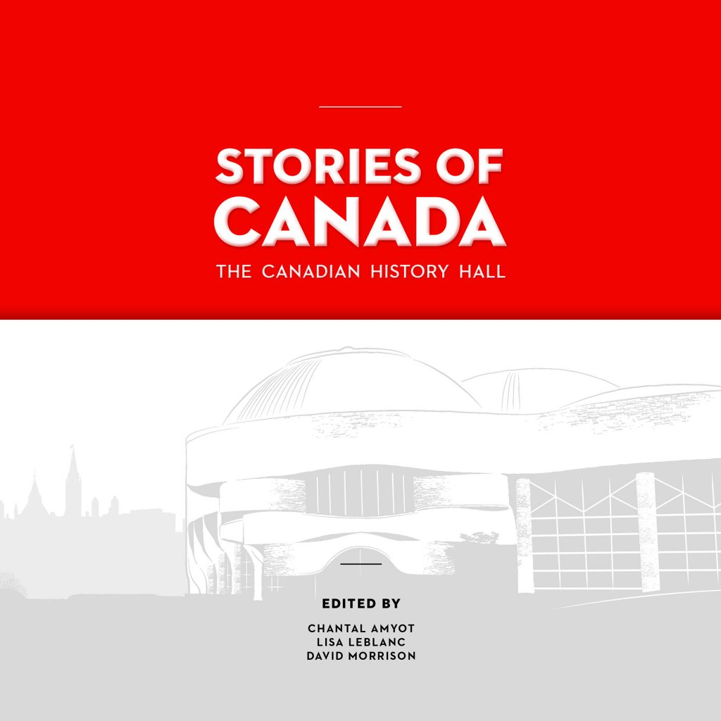 Book cover of the Canadian History Hall catalogue
