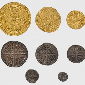 Eight Coins, England and France, 1327–1377