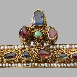 Crown Fragment, Hungary or France, 1250–1300