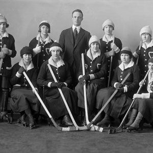 Girls' hockey team, Royal Victoria College