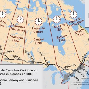 The Canadian Pacific Railway and Canada's Time Zones, 1885