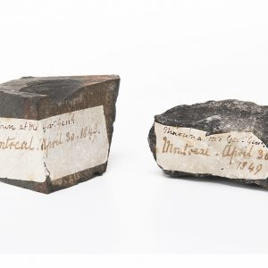 Stones with labels