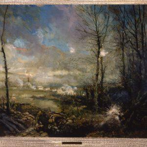 Gas Attack, Flanders, 1915