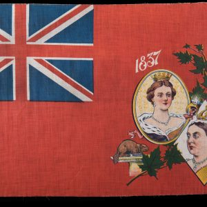 Flag commemorating Queen Victoria's Diamond Jubilee