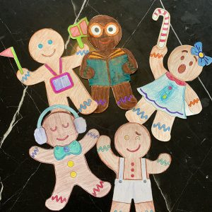 Gingerbread characters