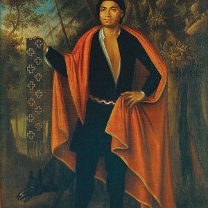 Portrait of an Indigenous leader